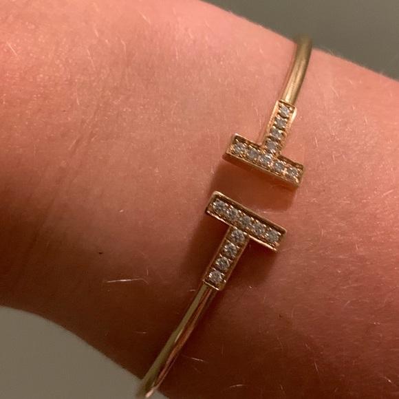 Tiffany Co Jewelry Authentic Tiffany T Wire Bracelet Poshmark